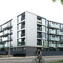 Appartementengebouw Zaagdam